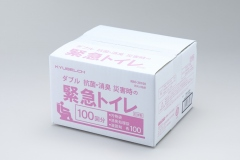 KBO-28100-ダブル抗菌・消臭 災害時の緊急トイレ100回-3